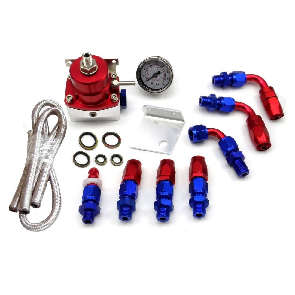 Fuel Filter Inline Clear Stainless 5 16 Bc Direct Aeromotive Style Pressure Regulator Kit